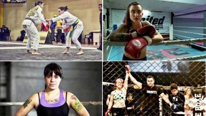¿Sexo débil? Las mujeres profesionales de las artes marciales mixtas
