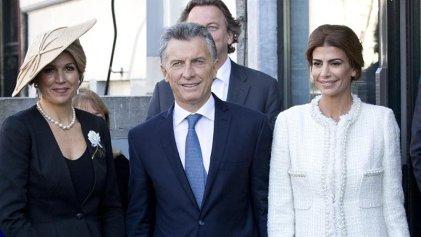 Holanda: Macri fue recibido por la reina Máxima y un escrache de H.I.J.O.S.