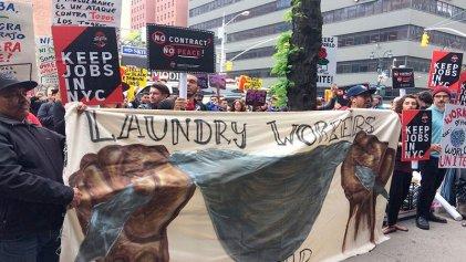 [VIDEO] 1M en EE.UU.: manifestación en las puertas de B&H en Nueva York