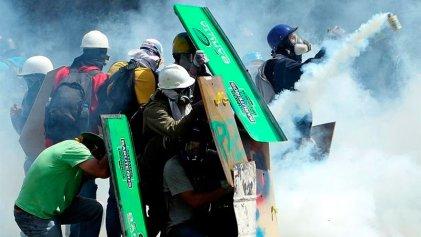 Caracas: nueva represión a marcha de la oposición