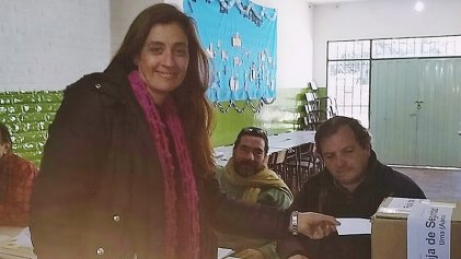 San Javier: votó Mara Beltrame candidata intendente por el PTS – FIT