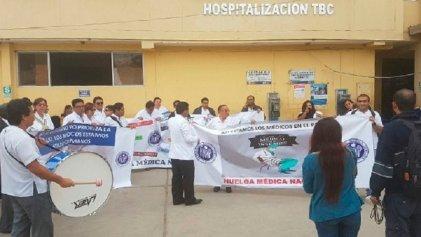Perú: médicos comienzan huelga nacional indefinida