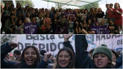 Las Leonas, mujeres honorarias en el Campamento de Pan y Rosas