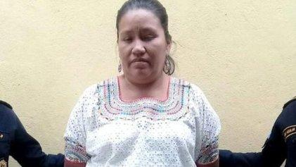 Guatemala: encarcelan ilegalmente a María Choc, dirigente indígena y maestra