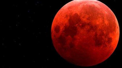 La Nasa transmite en vivo la evolución de la #Superluna