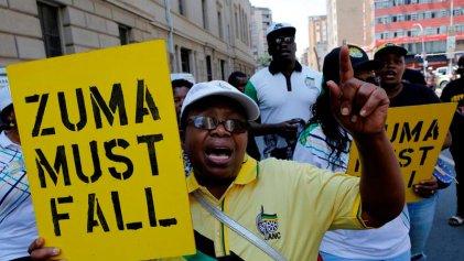 Un largo y lento final para la crisis presidencial de Sudáfrica
