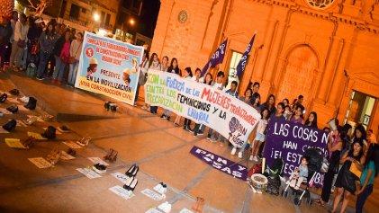 Tacna-Perú: mujeres obreras de la construcción inician lucha por sus derechos laborales
