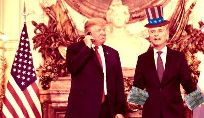 Otra ayudita del amigo americano para Macri