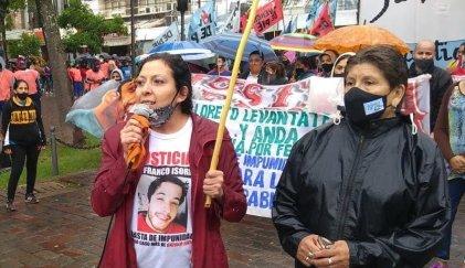 """Patricia Isorni. """"El Poder Judicial santiagueño es cómplice de la violencia institucional"""""""