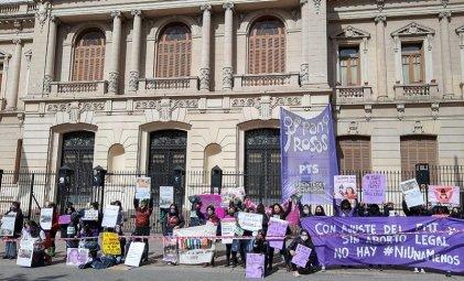 #3J en Jujuy: mujeres manifestaron porque la lucha no se toma cuarentena