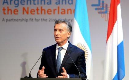 Macri se reunió con 250 empresarios holandeses en búsqueda de inversiones
