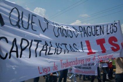 En este 1° de Mayo levantemos nuestras banderas de lucha y por la independencia de clase