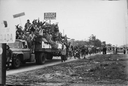 Julio de 1975: huelga general contra el Gobierno peronista