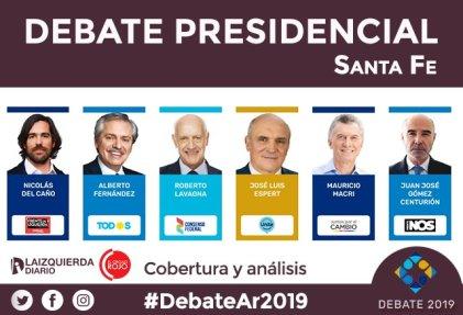 Todo lo que tenés que saber del primer #DebateAr2019 en Santa Fe