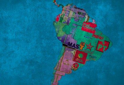 El giro político a derecha en Sudamérica
