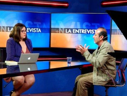 Entrevista a Raúl Godoy en la TV chilena