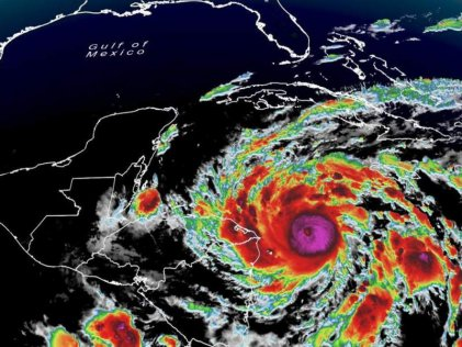 Huracán Eta golpeará Centroamérica como categoría 4