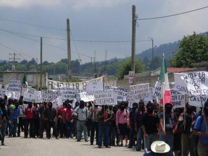 Los socialistas repudiamos el hostigamiento y ataque a militantes del EZLN