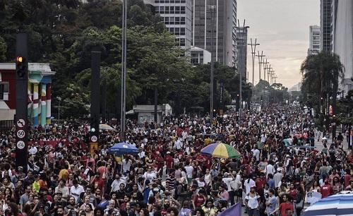 Brasil: paro en el transporte y manifestaciones contra la reforma jubilatoria
