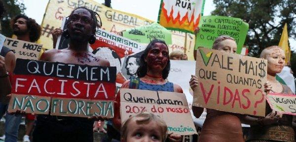 #25S Acción Global por el Clima: en Brasil marchamos por el Pantanal y nuestro futuro