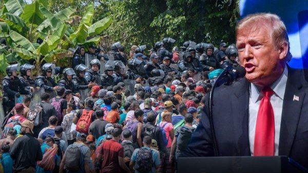 Trump amenaza con abrir fuego contra migrantes si llegan a la frontera