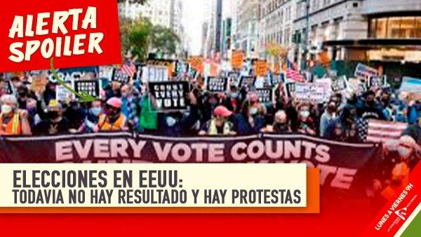 Elecciones en Estados Unidos: protestas en las calles y todavía no hay resultados