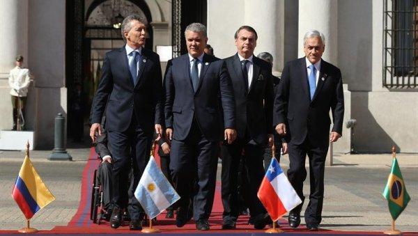 La derecha regional funda el Prosur en Chile