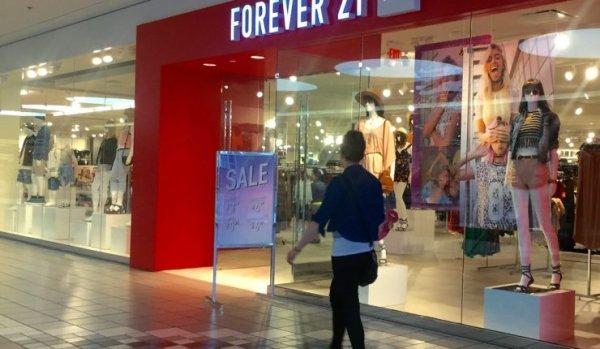 Forever 21 se declaró en quiebra y anunció que planea cerrar hasta 178 tiendas en 40 países