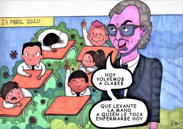 Piñera prepara vuelta a clases en pleno ascenso del contagio del Covid-19