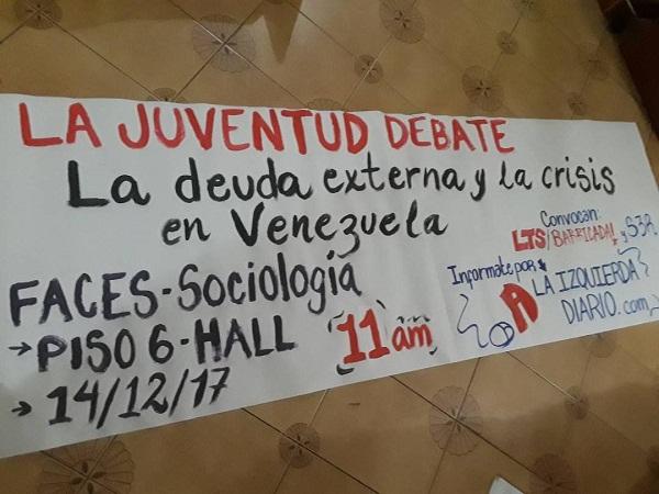 Debate en Sociología: La deuda externa y la crisis en Venezuela